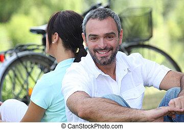 田舎, ∥(彼・それ)ら∥, 恋人, 自転車, モデル