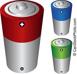电池, c, 类型
