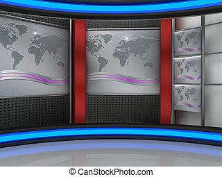 电视工作室