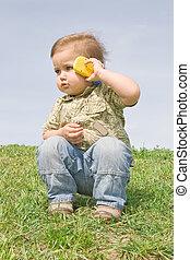 男の子, ∥で∥, a, 携帯電話