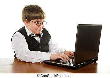 男の子, コンピュータ