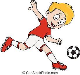 男の子, サッカー