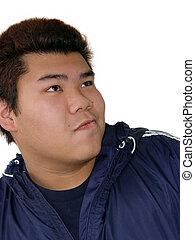 男の子, ティーンエージャーの, アジア人