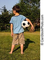 男の子, フットボール