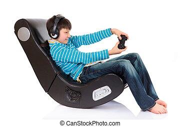 男の子, 人間工学的な椅子