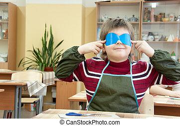 ∥, 男の子, 作り, a, 仮面舞踏会の マスク, クラスで, ∥において∥, 学校