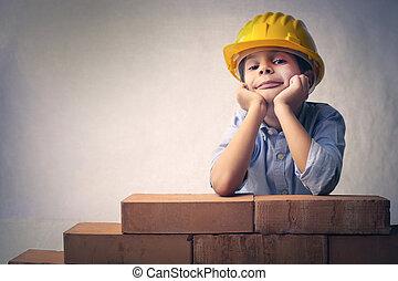 男の子, 労働者
