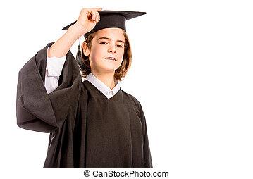男の子, 卒業