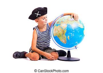男の子, 地球, 保有物