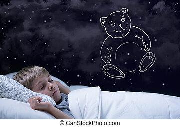男の子, 夢を見ること