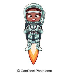 男の子, 宇宙飛行士, 漫画