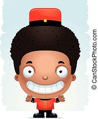 男の子, 微笑, ボーイ, 漫画