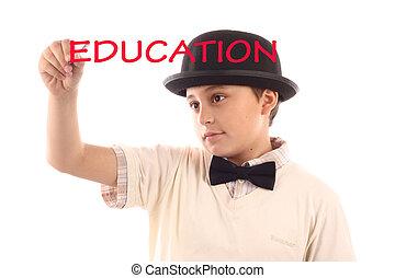 男の子, 書き言葉, 教育