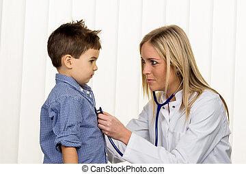 男の子, 若い医者