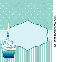 男の子, 誕生日カード, テンプレート