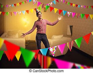 男の子, birthday, 幸せ