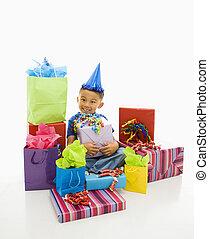 男の子, gifts.