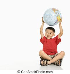 男の子, globe., 保有物