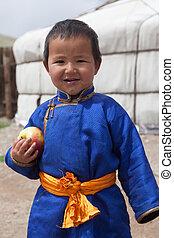 男の子, mongolian