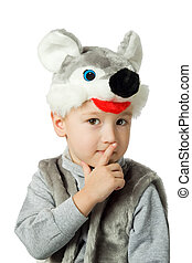 男の子, mouse., スーツ