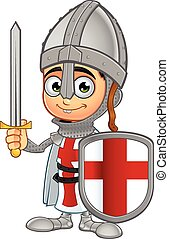 男の子, st. 。, 特徴, ジョージ, 騎士