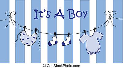 男の赤ん坊