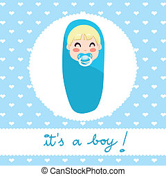 男の赤ん坊, デザイン