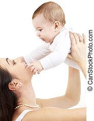 男の赤ん坊, 幸せ, #2, 母