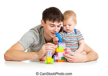 男の赤ん坊, 父, 一緒にプレーする