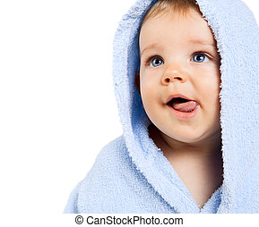 男の赤ん坊, 舌, 空腹, から