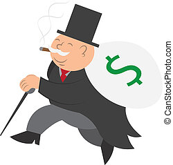 男ラニング, お金