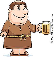 男修道士, 啤酒