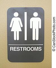 男女両様である, 浴室, 印