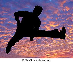 男孩, 跳躍