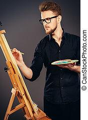 男性, 藝術家