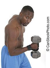 男性, 重量起重者, 2
