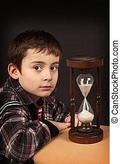 男生徒, ∥で∥, hour-glass