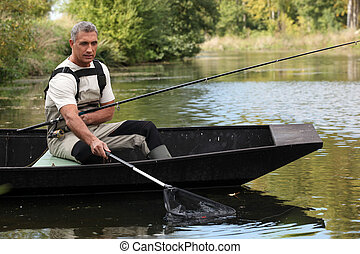 男釣り, から