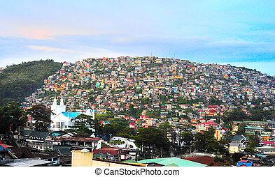 町, フィリピン
