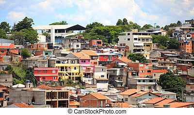 町, ブラジル人
