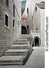 町, 古い, croatia, dubrovnik