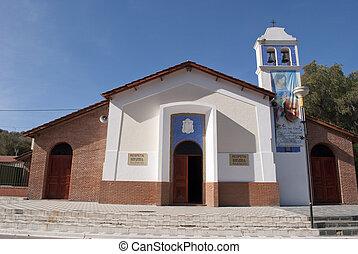 町, 教会