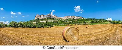 町, assisi, 古代, イタリア, umbria