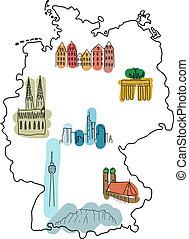 界標, 德國