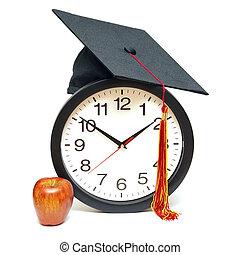 畢業生, 時間