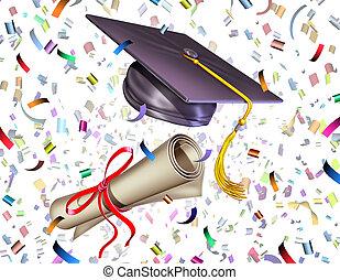 畢業, 慶祝