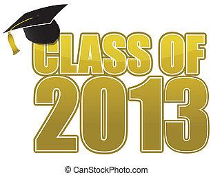 畢業, 2013