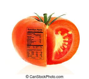番茄, 營養事實