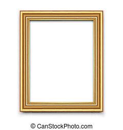 畫框架, 矢量, 或者, 相片