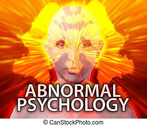 異常, inkblot, 心理学, 女性